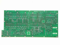 Front panel pcb for circuit breaker tester